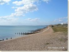 Milford on Sea, strandpromenaden höger 20090914