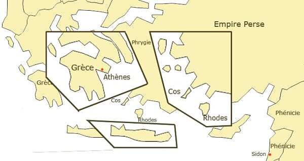 Grèce 500 av J.-C.