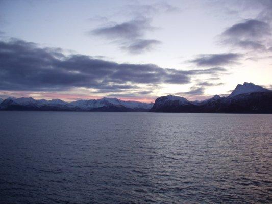 Soluppgång øver nordnorge (1)