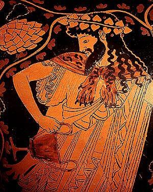 Dionysos, dieu du vin et de l'extase 500 avant J.-C.