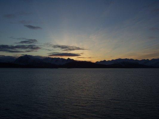 Soluppgång øver nordnorge