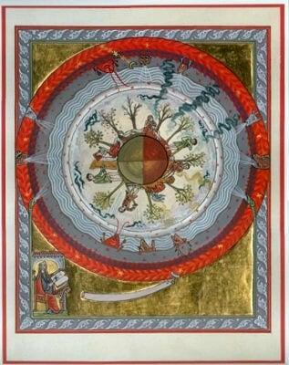 Les énergies cosmiques de la terre de Hildegarde von Bingen 1163 (ill.1250)