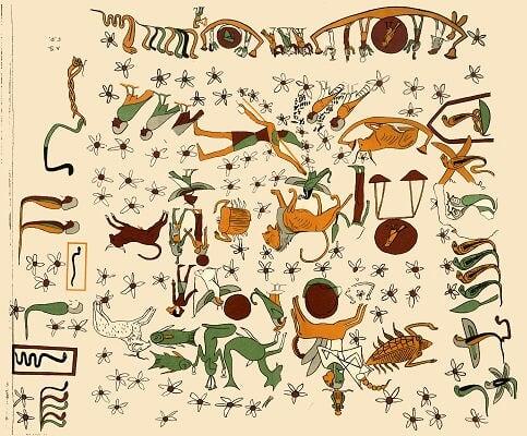Zodiac d'Athrabis reproduction 1
