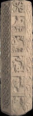 Colonne de souvigny 12ème siècle